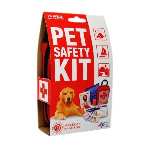 AKC pet safety kit - via Ammo the Dachshund