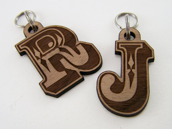 Wooden Pet ID Tags from Cropscotch on Etsy - via Ammo the Dachshund