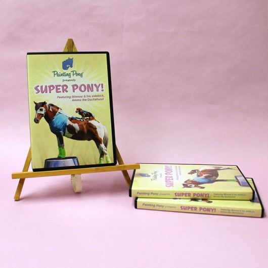 Super Pony DVD Release! via Ammo the Dachshund and Painting Pony