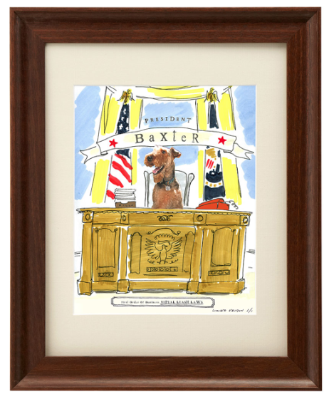 Friday Fetch: Picture your Pet as President // Ammo the Dachshund