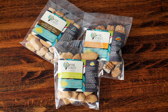 Paw Street Barkery Review & Giveaway // Ammo the Dachshund