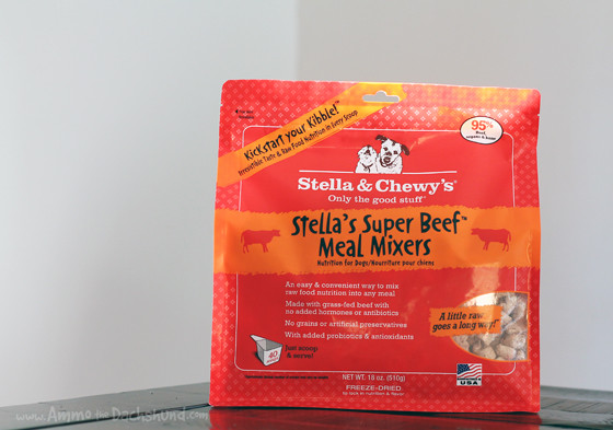 Adding Raw to Your Dog's Diet with Stella & Chewy's Meal Mixers + A Giveaway