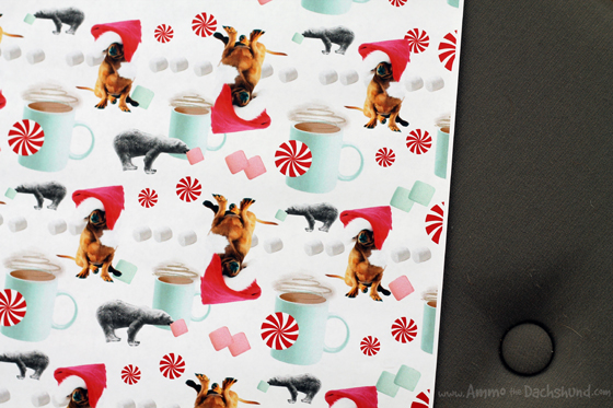 Create Custom Holiday Gift Wrap Featuring Your Pets!